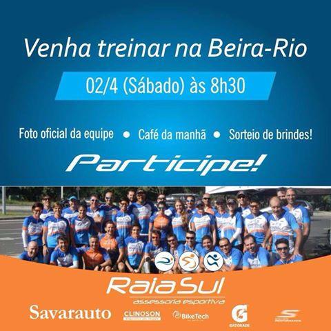 Venha treinar na Beira Rio!