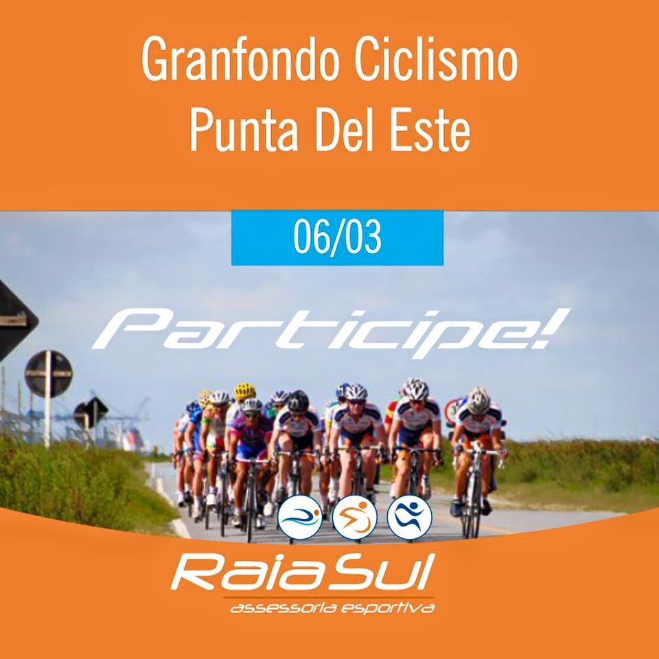 Competição Grandfondo em Punta Del Este