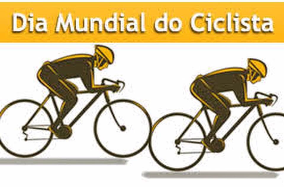 Dia Mundial do Ciclista!