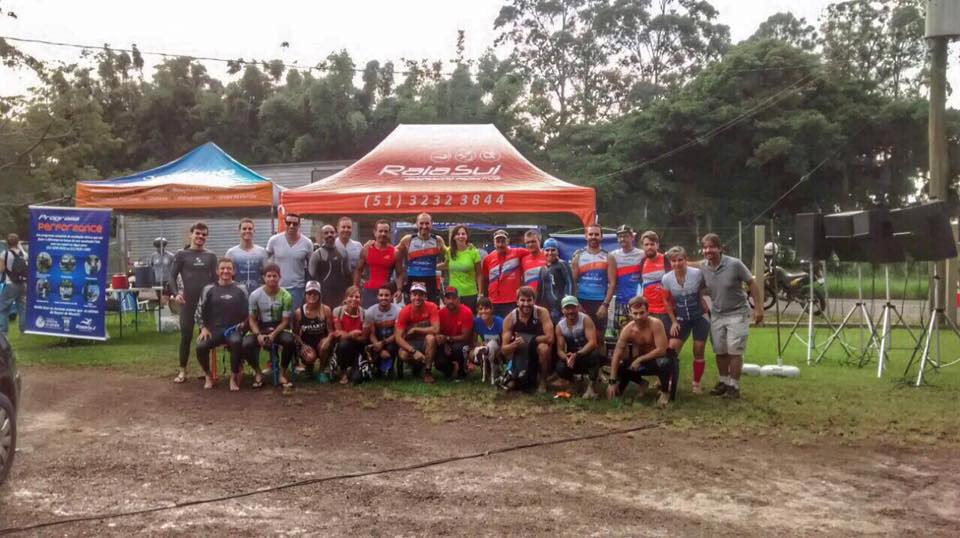 Família RaiaSul pronta para o triathlon de Osório!