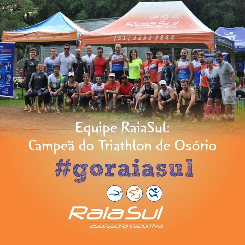 Equipe RaiaSul: Campeã do Triathlon de Osório!!!