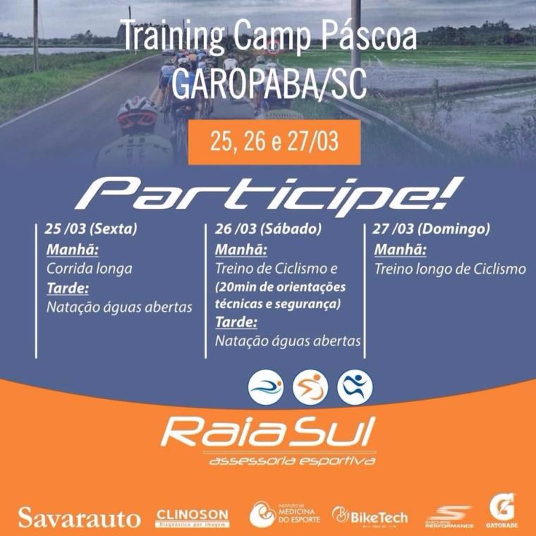 Training Camp em Garopaba! Quem vem??