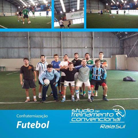 Confraternização do Studio Convencional (musculação)  💪🏻 com futebol ⚽️!