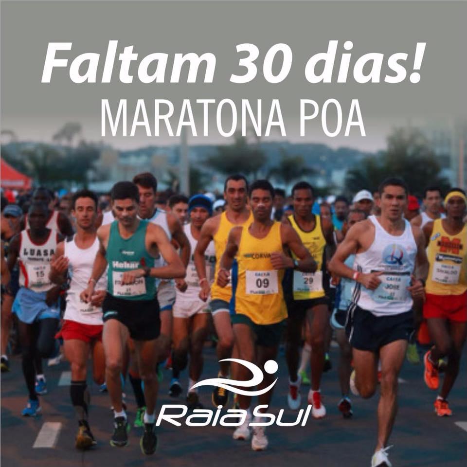 Contagem regressiva para a Maratona Internacional de Porto Alegre!