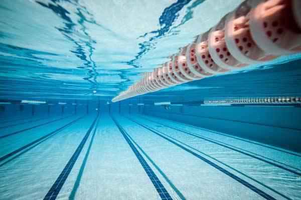 Temperatura da água para a prática aquática
