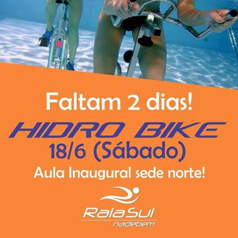 Vem aí a aula inaugural de Hidrobike na RaiaSul