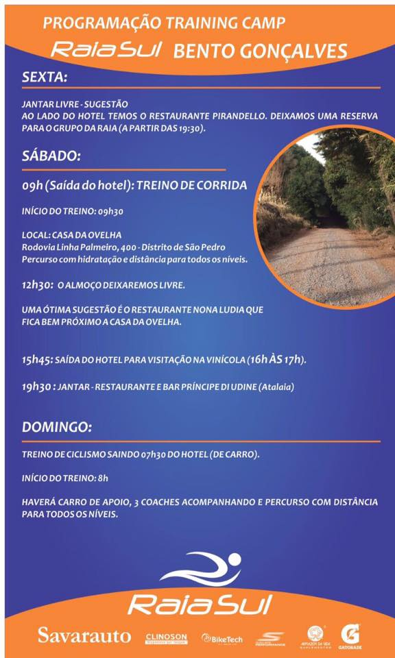 Training Camp em Bento Gonçalves