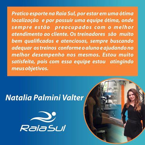 Obrigado pela confiança Natália Palmini Valter!