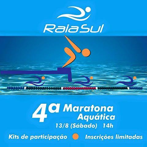 Programe-se para a maratona aquática!
